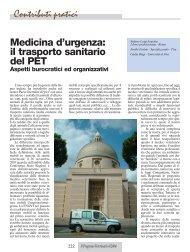Contributi pratici Medicina d'urgenza - Ordiniveterinaripiemonte.it