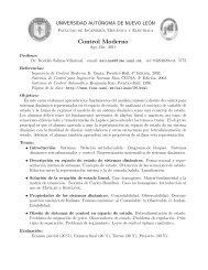 Programa completo - Facultad de Ingeniería Mecánica y Eléctrica