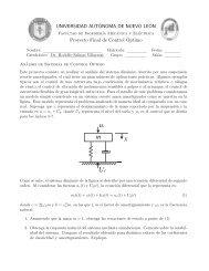 Proyecto Final - Facultad de Ingeniería Mecánica y Eléctrica