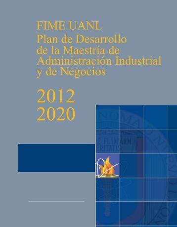 Plan de Desarrollo de la MAIN - Facultad de Ingeniería Mecánica y ...