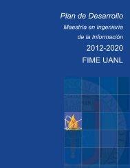 Plan de Desarrollo - GAMA FIME - Universidad Autónoma de Nuevo ...