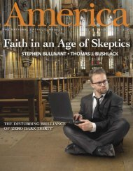 THE NATIONAL CATHOLIC WEEKLY feb. 11, 2013 $3.50 - Jesuits