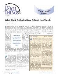 Black Catholic Ministry - Jesuit