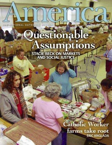 THE NATIONAL CATHOLIC WEEKLY MAY 6, 2013 $3.50 ... - Jesuits