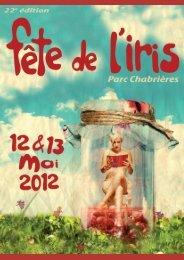 DP Fete de l'iris 2012 Oullins - Ville d'Oullins