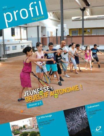 Profil de juillet août 2013 - Ville d'Oullins