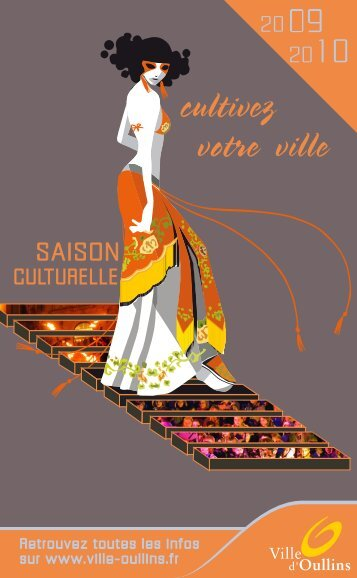 LIVRET SAISON CULTURELLE 2009-2010 - Ville d'Oullins