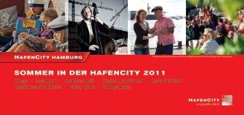 Sommer in Der HafenCity 2011