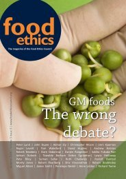 GM foods - Food Ethics Council