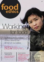 reviews - Food Ethics Council