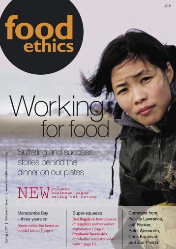 reviews - Food Ethics Council