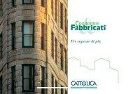 Scheda sintetica (pdf - 354 Kb) - Cattolica