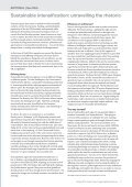 Sustainable intensification - Food Ethics Council - Page 3