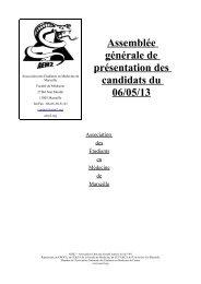AG_présentation - Association des Etudiants en Médecine de ...