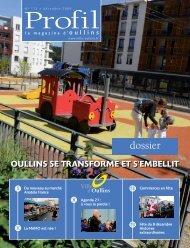 Profil de décembre 2009 - Ville d'Oullins