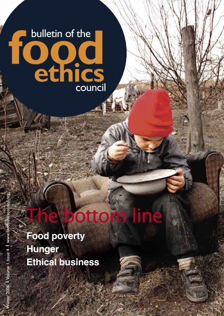 The bottom line - Food Ethics Council