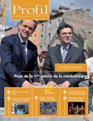 Profil de juin 2009 - Ville d'Oullins