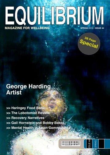 Equilibrium Magazine Issue 44 - Spring 2012 - Haringey Council