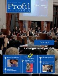 Profil de janvier 2009 - Ville d'Oullins