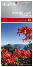 Parco San Grato Carona - Lugano Turismo