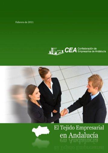 el tejido empresarial de Andalucía - Confederación de Empresarios ...