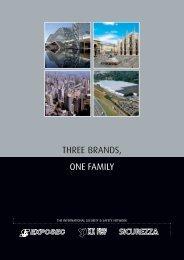 THREE BRANDS, ONE FAMILY - Sicurezza