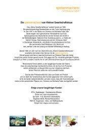 Cateringmappe speisenmacherei - Hamburg Locations