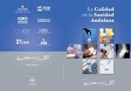 La Calidad en la Sanidad Andaluza - Confederación de ...