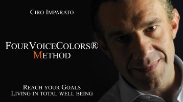 ciro imparato reach your goals living in total well being - La Voce.net