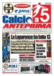 Edizione Nazionale Nr.33 del 03/10/2013 - Calcio a 5 Anteprima