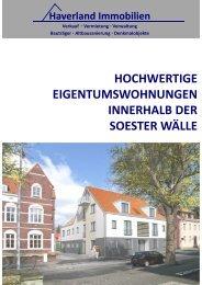 Neubau von 6 hochwertigen ... - Haverland Immobilien Soest