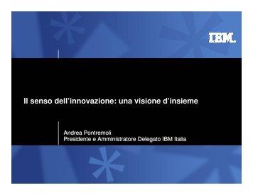Il senso dell'innovazione: una visione d'insieme - Confindustria