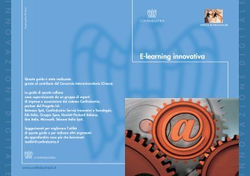 E-learning innovativa - Confindustria IxI