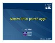 DOCUMENTO Sistemi RFID: perché oggi? - Confindustria IxI