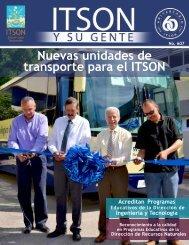 Nuevas unidades de transporte para el ITSON