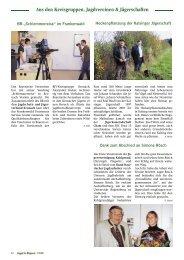 Aus den Kreisgruppen, Jagdvereinen ... - Landesjagdverband Bayern