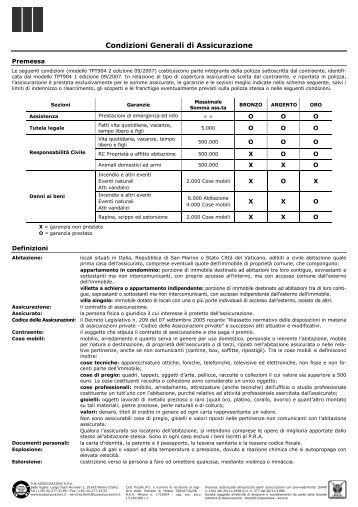 Soluzione fata per l 39 impresa fata assicurazioni livorno for Allianz condizioni generali di assicurazione
