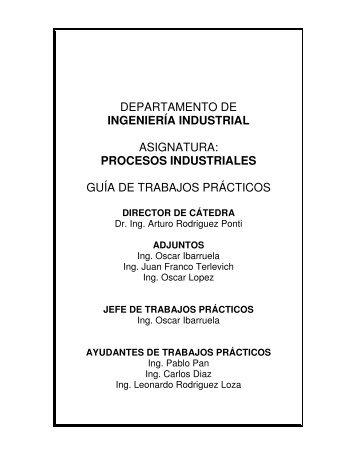 procesos industriales guía de trabajos prácticos - Industrial.frba.utn ...