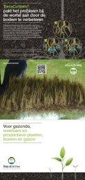 TerraCottem® pakt het probleem bij de wortel aan door de bodem te ...