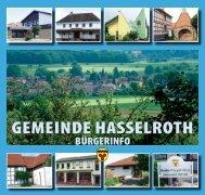 Bürger-Info 2012 - Gemeinde Hasselroth