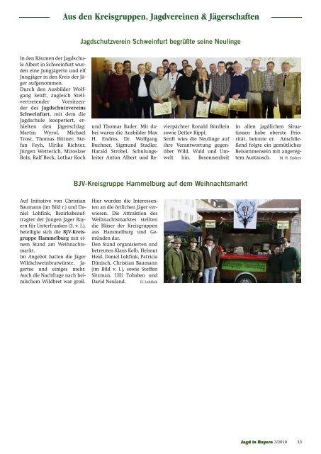 Aus den Kreisgruppen, Jagdvereinen & Jägerschaften Termine