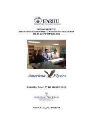 PANAMA, 24 AL 27 DE MARZO 2013 - Ifarhu
