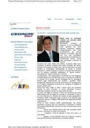 2011-10 INNOVAZIONI NEL MERCATO DELLE ... - Tua Assicurazioni