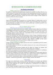 SERVICES PROPOSES A LA RESIDENCE DES ... - Chinon
