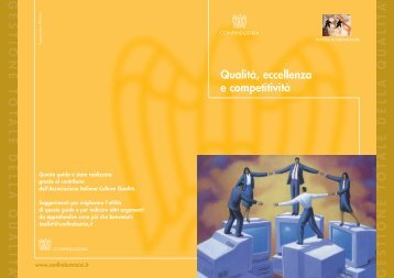 Qualità, eccellenza e competitività - Confindustria IxI