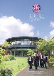 Prospectus - Tiffin School