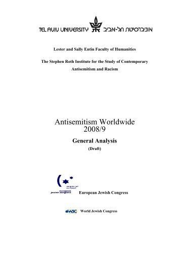 Antisemitism Worldwide 2008/2009 - Think Site EU