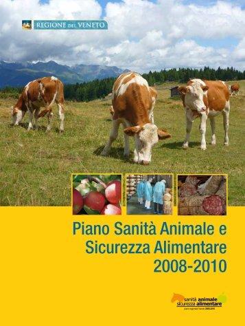 Piano Sanità Animale e Sicurezza Alimentare 2008-2010