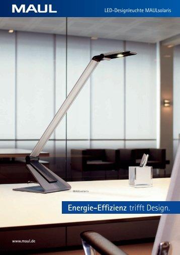 Energie-Effizienz trifft Design.