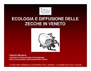 ecologia e diffusione delle zecche in veneto - Dipartimento di ...